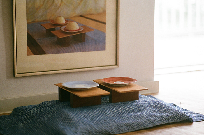 <p>2014<br /> Geta Sandals / Serving Trays</p>